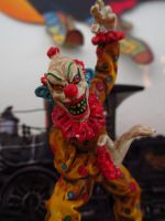 Dept 56 wicked clown by Sorath-Rising