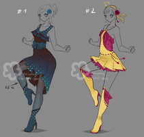 Collaborative Outfits - sold by Nahemii-san