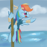 Ahoy! Me sees land! by chaosmalefic