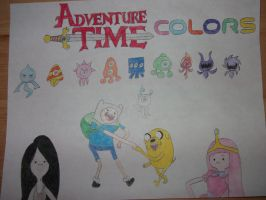 Adventure Time Colors by rabbidlover01