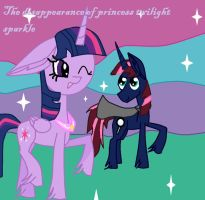 The disappearance of princess twilight sparkle by Keithsterling