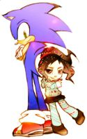 Sonic Y Vanellope 2 by alexhatsune