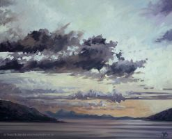 Morar At Sunset by tracybutlerart