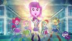 My Little Pony - Equestria Girls HD Wallpaper by Jackardy