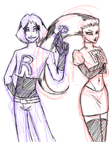 Jessie and James by Rhoda-the-Echidna