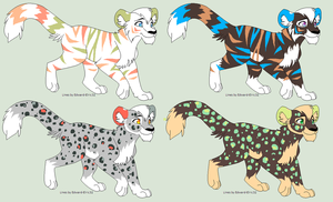 .:Adopts:. OPEN by FemaleRobbery