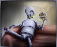 Futurama's Bender - live action. by Panicviper