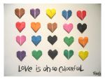 colourful love by cosmogurl