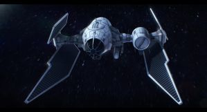 TIE Fighter Advanced Scout by AdamKop