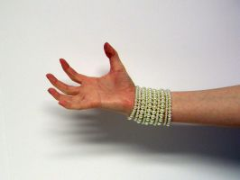 Hand with Pearls Stock10 by NoxieStock