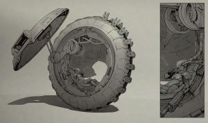 Wheel by Stefana-Tserk