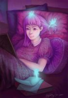Bookworm by Huyen-n00b