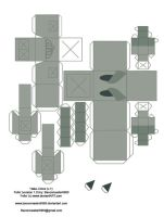 Fella Papercraft Template by Papercraft-Club