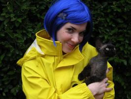 Coraline Costume 2 by msventress