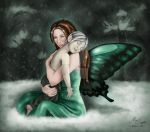 Dasarine and Adhara: a winter tale by AethereaVis