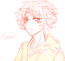 Gage the Tsundere by MOCHlRON
