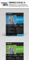 Corporate Flyer Template Vol 10 by jasonmendes