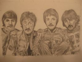 The Beatles 2 by chitraah