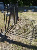 cemetary fence by ribcage-menagerie