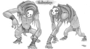 Skullmonkeys by Parkhurst