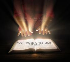 Your Word Gives Light by kevron2001