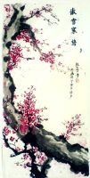 The Plum Blossoms by emma94428