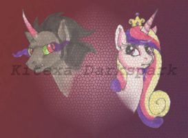 Behind every heart ... by KHwhitelion