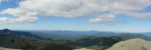 Mount Marcy Panorama by saphire6sky