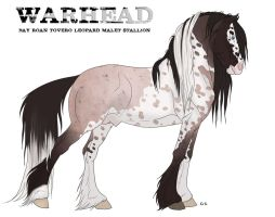 WARHEAD the Malet stallion by pookyns-5