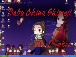 Baby China Shimeji by HetaGarnet