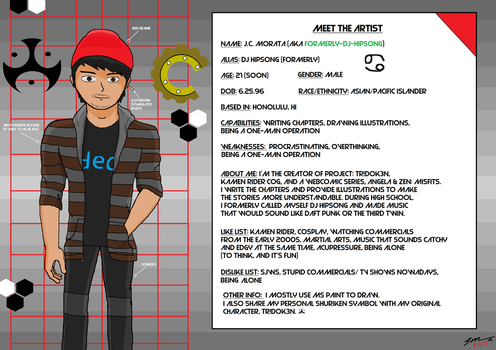 Meet The Artist [J.C. Morata Edition] by Formerly-DJ-Hipsong