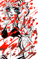 Kawaii even when bloody by ZydrateAddicted