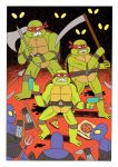 TURTLES FIGHTERS by Teagle