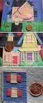 Paper Houses: Scale by Estherella