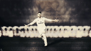 Sergio Ramos Wallpaper by LiterateGraphic