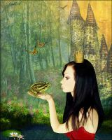 The Princess And The Frog by cemac