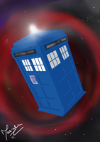 TARDIS by Isil22