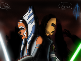 Ahsoka and Raven on Russan by ATTMUD24PL