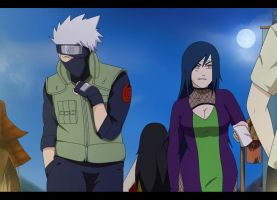 Not fair Kakashi-kun by Samr0iD