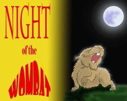 Night of the Wombat by quentinlars