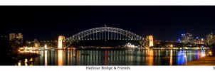 Syd Harbour Pano by tigerjet