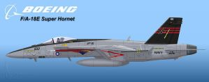 Screaming Eagles Super Hornet by Wolfman-053