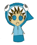 Shark Hat Boy - Chibi by anime-girl13