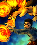 The Incinerating Pair by Haychel