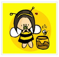 Honey Bee by cippow25