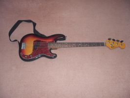 Bass Guitar :Stock: by Shelby-is-Crazy