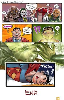 Sweet SurpriZe for Superman by 7circle