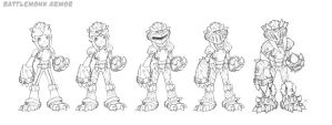 Battlemonk Armor by Zatransis