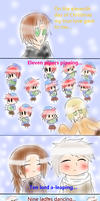 The twelve days of Christmas (part 11) by Miryam123