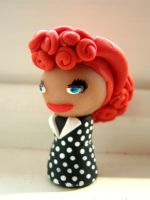 Lucille Ball Keychain by DarkMuse112